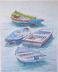 Boats in the Swell